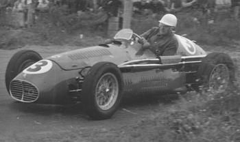 The Great Reg Hunt Of Victoria And One Of His Many Factory Race Cars, An  A6GCM Maserati